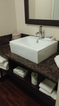 Red Roof Inn Locust Grove: Sink and vanity