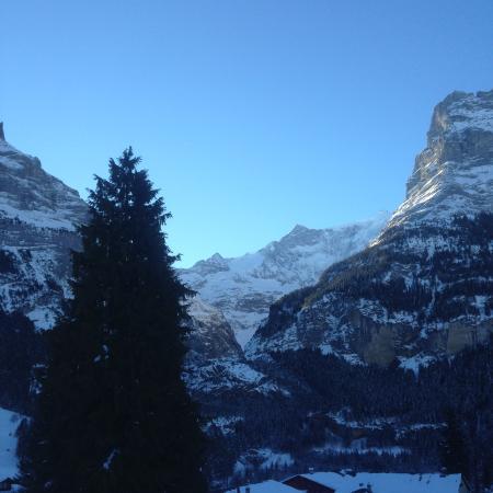 Hotel Grindelwalderhof: view from hotel room