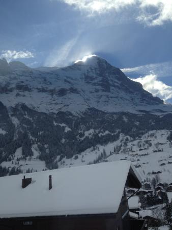 Hotel Grindelwalderhof: the eiger