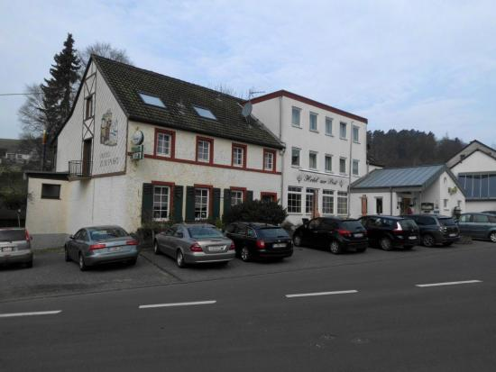 Hotel zur Post zicht straatzijde