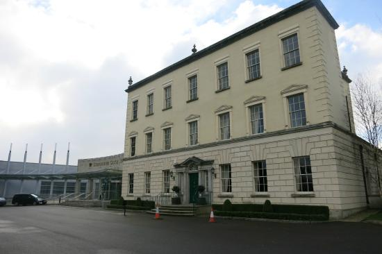 front of the hotel picture of dunboyne castle hotel and. Black Bedroom Furniture Sets. Home Design Ideas