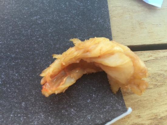 L'Ideal 1850: il s'agit d'une crevette et oui!