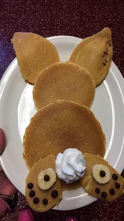 Ginny's Cafe : Bunny pancakes