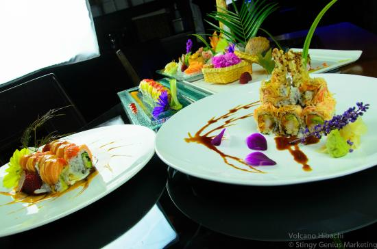 Volcano Steak & Sushi - Acworth