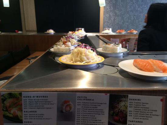Matsuri Passy : Parfait grand choix de plat