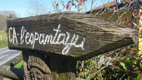 L'Espantayu: Casa rural