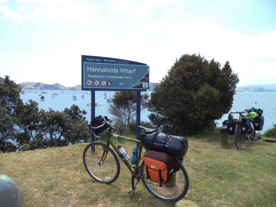 Cycle Auckland: Coromandel ferry wharf