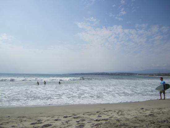 Cabañitas Buena Onda : La Punta, the surf spot in front of the hotel