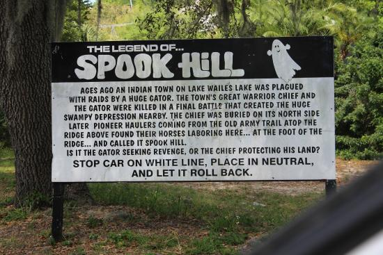 The legend of Spook Hill