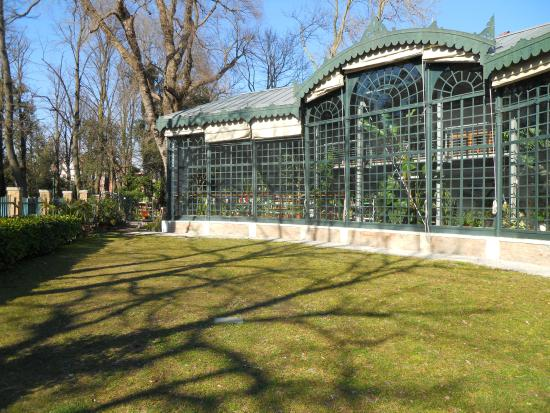 A l 39 ombre des grands arbres du jardin garibaldi photo for Giardini a venise