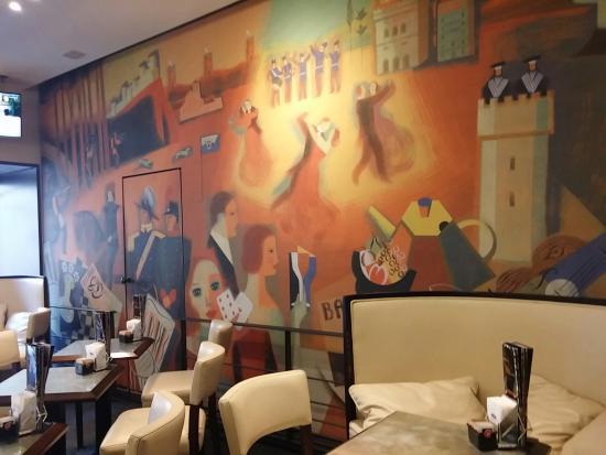 Caffe Titano : Quadro sala principale