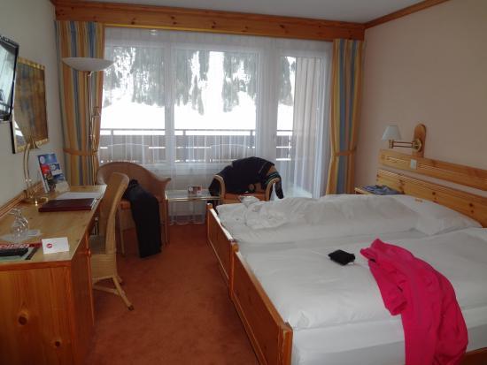 Sunstar Alpine Hotel Davos: Zimmer mit Ausblick