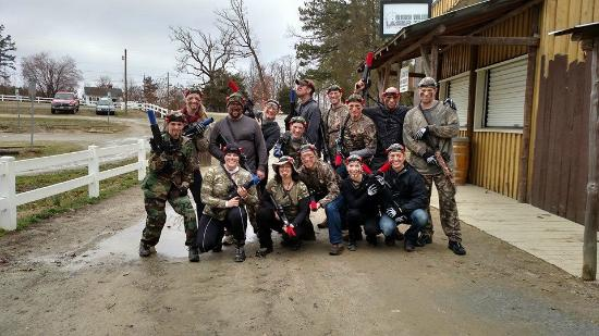 Kersey Valley Laser Tag: The group