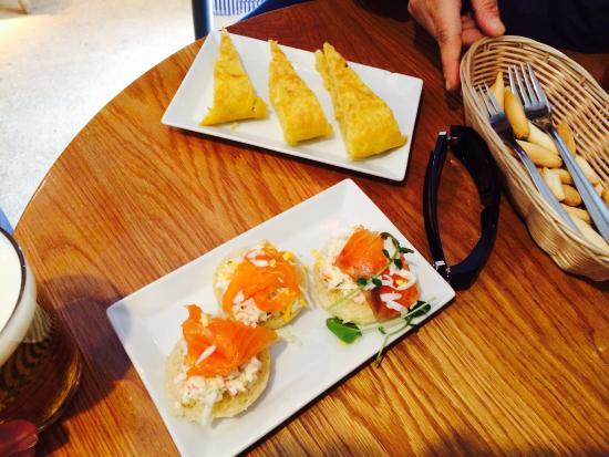 Bienmesabe : Tapa de salmon