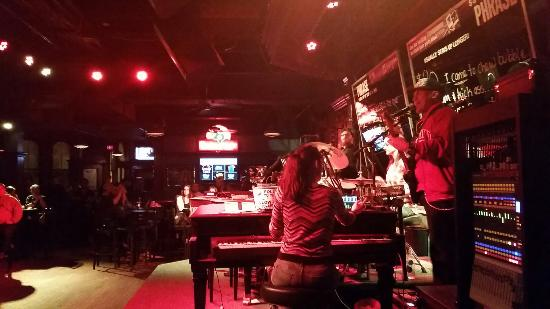 Howl at the Moon Saloon: The band