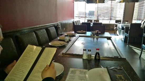 Hibachi Steakhouse and Sushi Bar: Before we ate