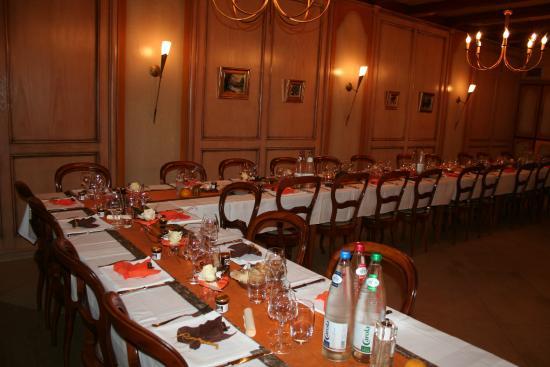 Wimmenau, Frankrike: salle resto