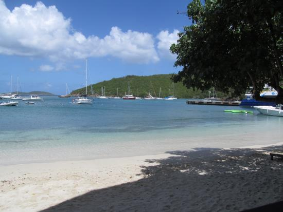 Joe's Rum Hut: view from lunch