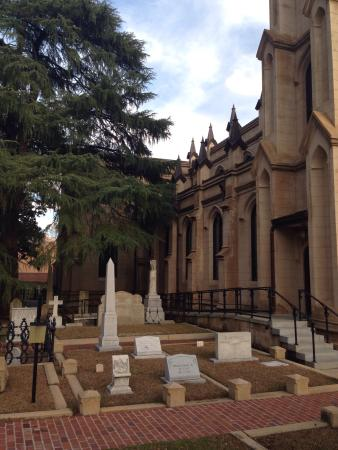 Trinity Episcopal Cathedral: The Cathedral's graveyard