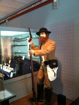 Saltville, Wirginia: Civil War exhibit