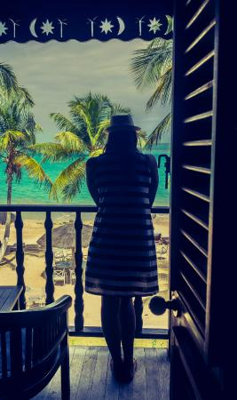 Charlestown, Canouan: Balcony