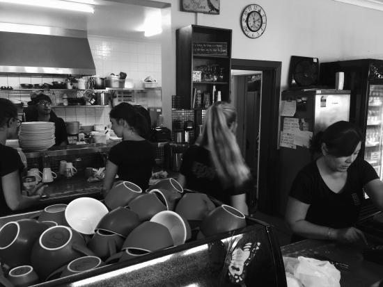 Mia Cafe: Staff