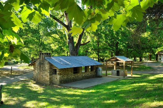 Bright Holiday Park: Camp kitchen