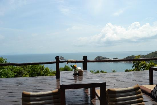 Baan Talay Koh Tao: Can you match this view from restaurant?