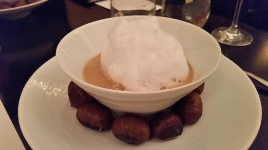Goosefoot : Chestnut soup