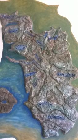 Goa Map Picture of Majorda Beach Resort Majorda TripAdvisor