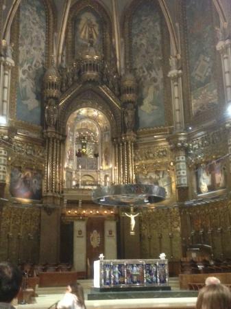 Escolania de Montserrat: 黒のマリア様