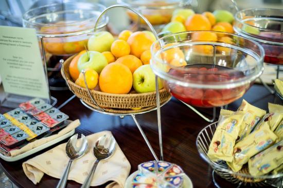 Hotel SPBVergaz: Завтрак