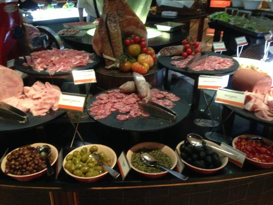 Antipasti Buffet Of Cold Cuts Picture Of Basilico