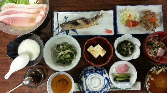 Kamikochi Myojinkan: 夕食