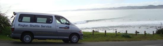 Raglan Scenic Tours: Shuttle Service to many different locations
