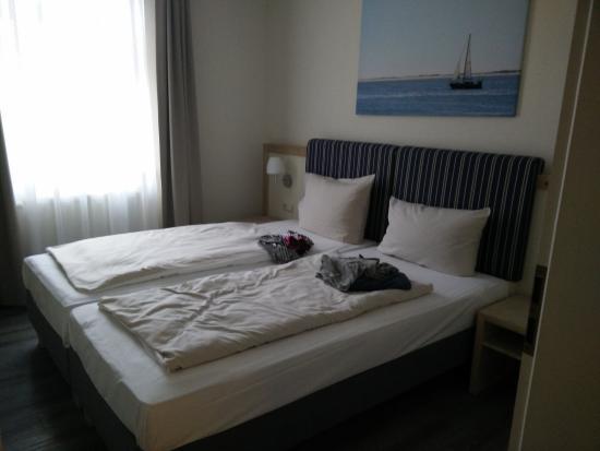 Hotel Hinrichs : Schlafzimmer