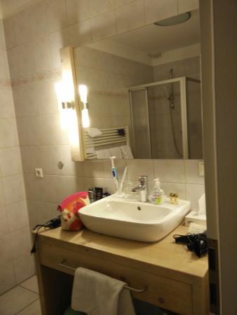 Hotel Hinrichs : Bad