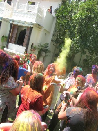 Hotel Mahendra Prakash: Fête de Holi