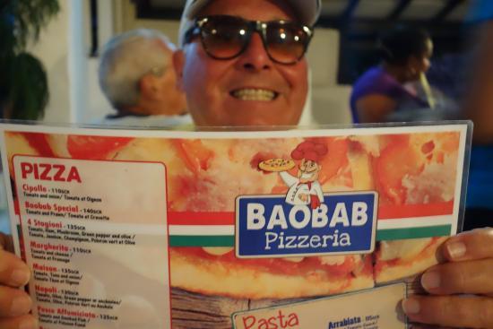 Baobab Pizzeria: Warum nicht wieder einmal eine gute Pizza?