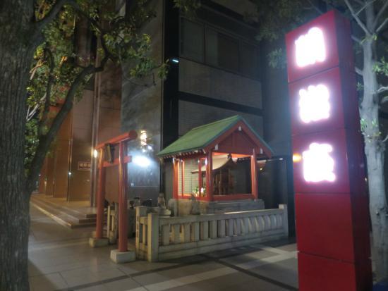 明治座 SAKURA-JAPAN IN THE BOX-, 夜の外観