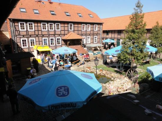 Hotel Allerhof: Innenhof