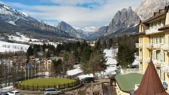 Vista Dalla Camera Picture Of Miramonti Majestic Grand Hotel Cortina D Ampezzo Tripadvisor