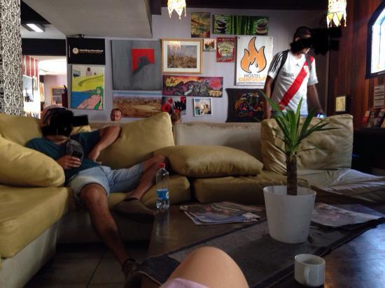 Hostel Cienfuegos: 公共ルーム