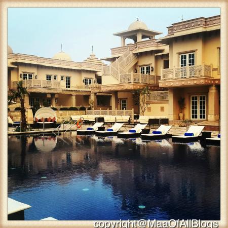 Beautiful pool side by Apas Promenade