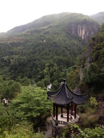 Qingtian County, الصين: 千丝岩—qiansiyan