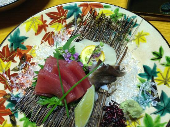 Un plat du repas du soir - Picture of Gion Shinmonso ...