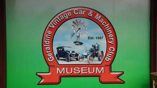 Geraldine Vintage Car and Machinery Museum: entree