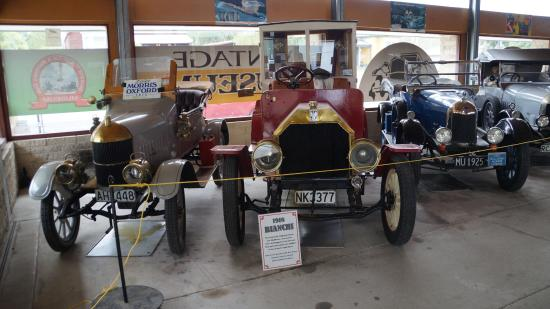 Geraldine Vintage Car and Machinery Museum: oldtimers