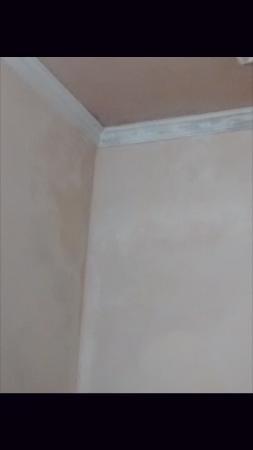 Hotel S.K. Regency: Damped walls - Room 204