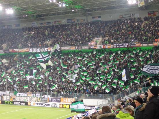 Borussia-Park: home fans